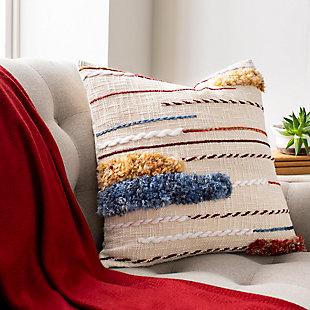 Surya Zena Pillow Cover, Multi, rollover