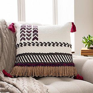 Surya Zuri Pillow Cover, Multi, rollover