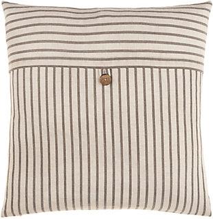 Surya Penelope Stripe Pillow, , rollover