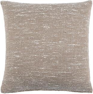 Surya Romona Pillow Cover, Tan, large