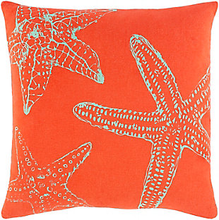 Surya Sea Life Pillow Cover, , rollover