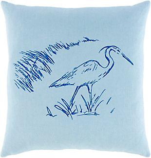 Surya Sea Life Pillow Cover, , rollover