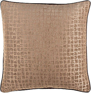 Surya Tambi Pillow, Beige, rollover