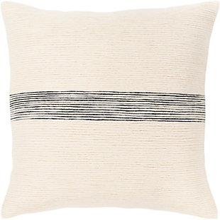 Surya Carine Pillow, Cream, rollover