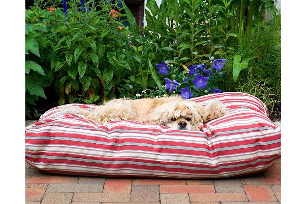 Jamison Medium Striped Bed, , large