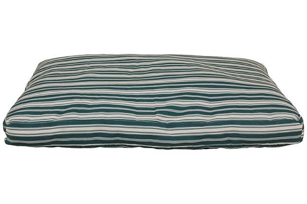Jamison Large Striped Pet Bed, , large