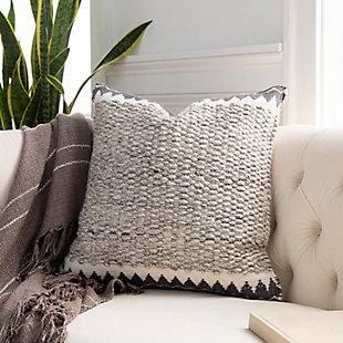 Surya Faroe Pillow Cover, Cream/Ivory, rollover
