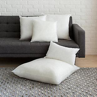 Surya Polyester Pillow Insert, White, rollover