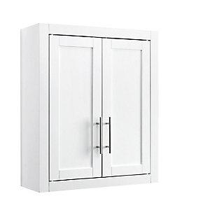 Savannah Wall Cabinet, White, rollover