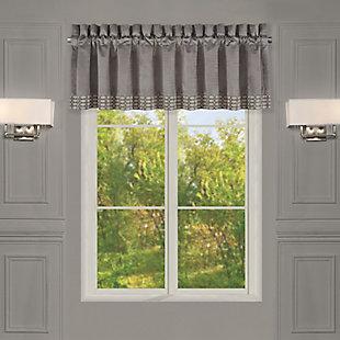 J. Queen New York  Belvedere Window Straight Valance, , large