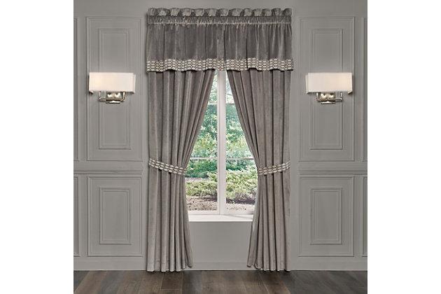 J. Queen New York  Belvedere Window Panel Pair, , large