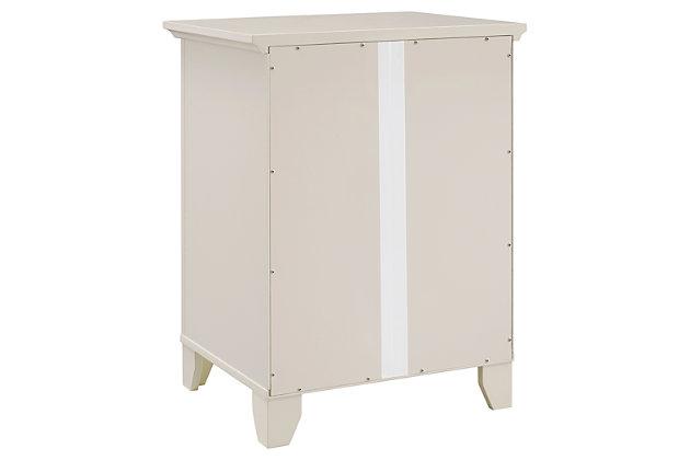 Winter Single Door Cabinet with Mirror Door, , large