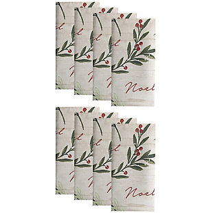 Holiday Tree Trimmings Napkins, 17x17 (Set of 8), , large