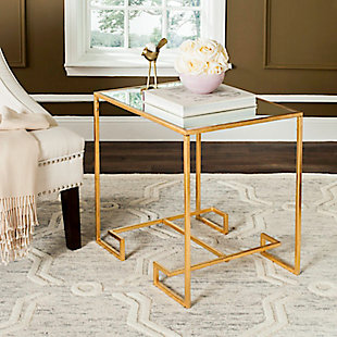 Leti Greek Key Accent Table, , rollover