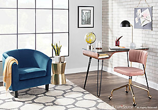 LumiSource Claudia Accent Chair, , rollover