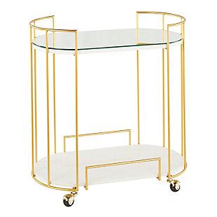 LumiSource Canary Bar Cart, , large
