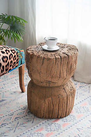 AB Home Antique Round Stool, , rollover