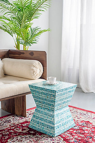 AB Home Square Pedestal Stool, , rollover