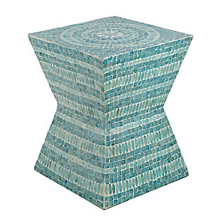 AB Home Square Pedestal Stool, , large