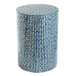 AB Home Cylindrical Pedestal Stool, , large