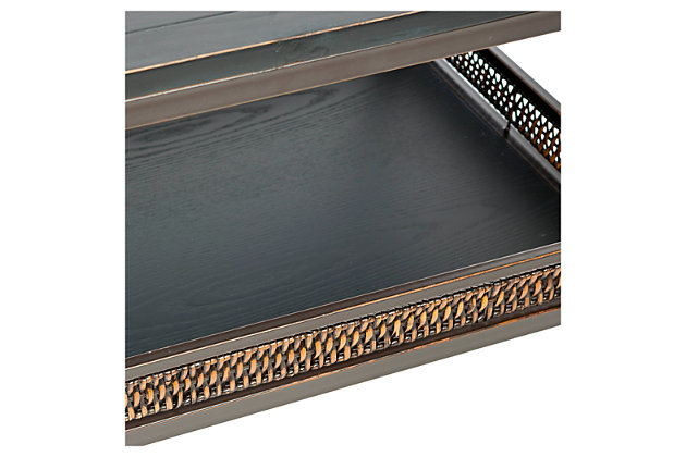 Dinesh Coffee Table With Storage Shelf, , large