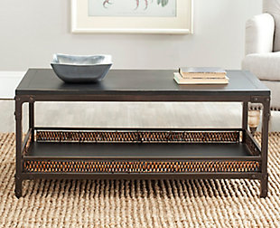 Dinesh Coffee Table With Storage Shelf, , rollover