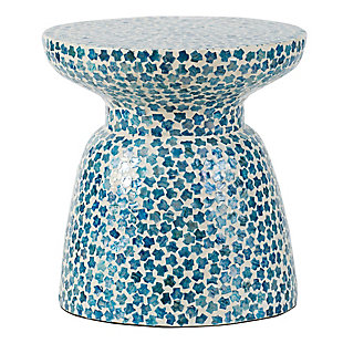 AB Home Chalice Shaped Contemporary Stool, , large