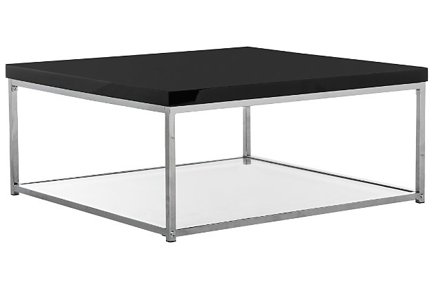 Malone Coffee Table, Black, large