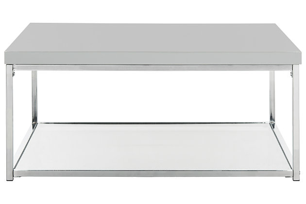 Malone Coffee Table, Gray, large