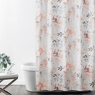 Croscill Stall Shower Curtain 54X78, Multicolor, , rollover