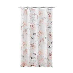 Croscill Stall Shower Curtain 54X78, Multicolor, , large
