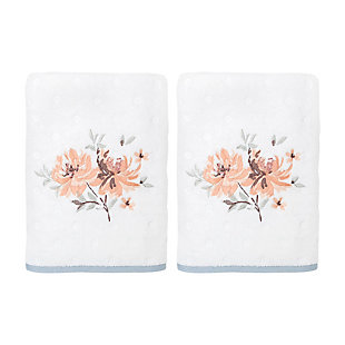 Croscill Bath Towel 2 pack Set 27X52, Multicolor, , large