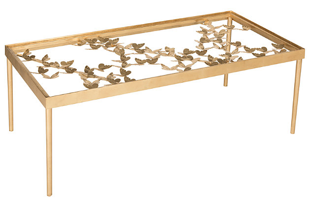 Rosalia Butterfly Coffee Table, , large
