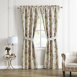 Croscill Everly Lined Pole Top Drapery, , rollover