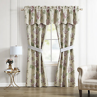 Croscill Everly Lined Pole Top Drapery, , large