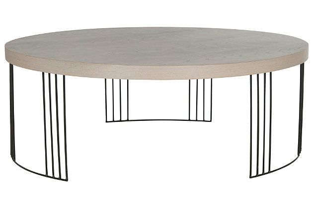 Keelin Mid Century Coffee Table, , large