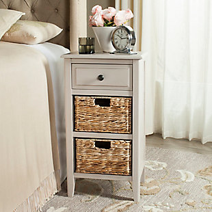 Everly Side Table, Vintage Gray, rollover
