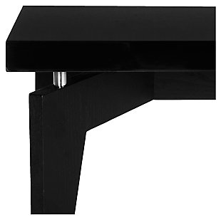 Josef Retro Floating Top Coffee Table, Black, rollover
