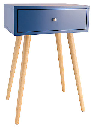 Astro Accent Table, Blue, large
