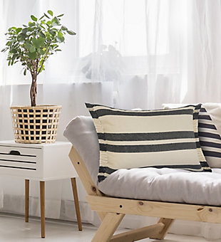LR Home Hugo Striped Throw Pillow, , rollover
