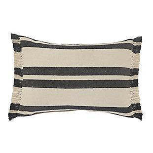 LR Home Hugo Striped Throw Pillow, , large