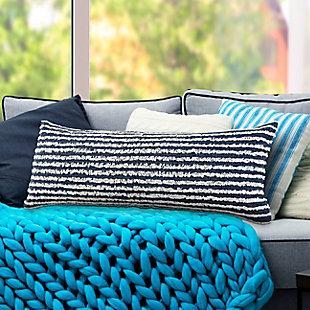 LR Home Raina Striped Throw Pillow, , rollover