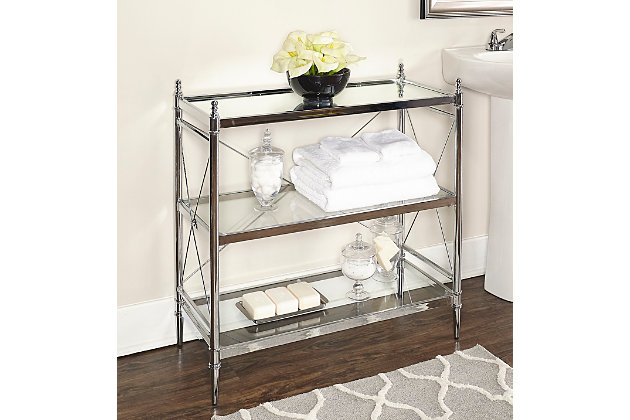Skylar Pinnacle Floor Console, , large
