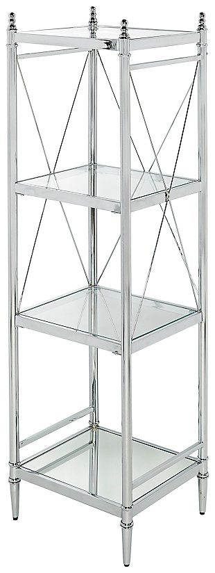 Skylar Pinnacle Four Tier Shelf, , large