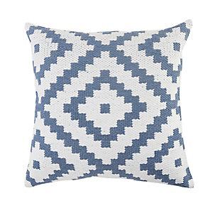 LR Home Cai Geometric Outdoor Throw Pillow, , rollover