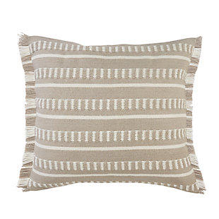 LR Home Beatrice Dashes Fringe Outdoor Pillow, , large