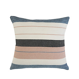 LR Home Mid-Century Striped Throw Pillow, , rollover
