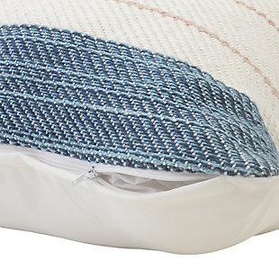 LR Home Mid-Century Striped Throw Pillow, , large