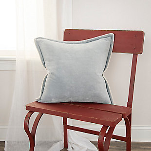 Rizzy Home Connie Post Velvet Throw Pillow, , rollover
