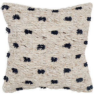 Rizzy Home Tufted Throw Pillow, , large